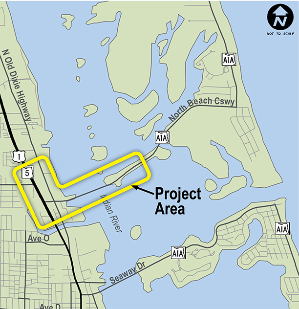 Map Of Fort Pierce Florida.Sr A1a North Causeway Project Development Environment Pd E Study